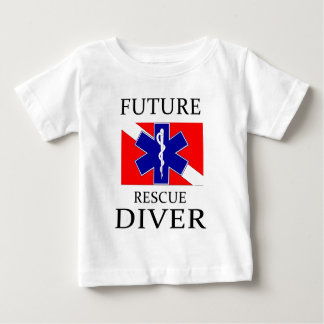 Future Rescue Diver Baby T-Shirt