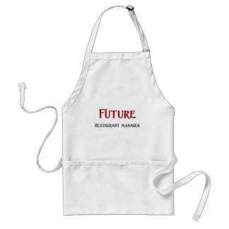 Future Restaurant Manager Adult Apron