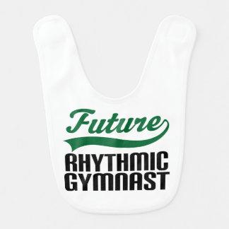 Future Rhythmic Gymnast Baby Bib