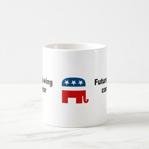 Future right-wing conspirator mugs