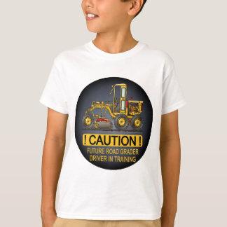 Future Road Grader Driver Kids T-Shirt