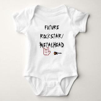 FUTURE ROCKSTAR/METALHEAD BABY BODYSUIT