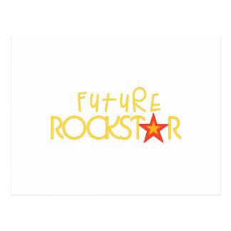 Future Rockstar Postcard