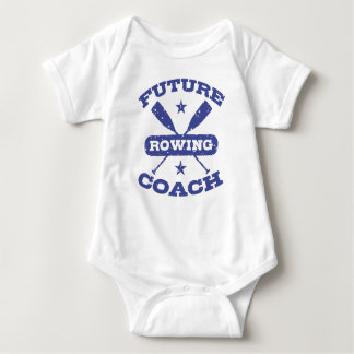 Future Rowing Coach Baby Bodysuit