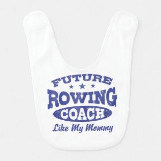 Future Rowing Coach Like my Mommy Bib
