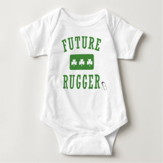 Future Rugger - Irish (jbRUGBY) Baby Bodysuit