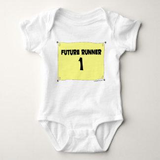 Future Runner s/s Baby Bodysuit
