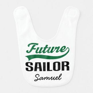 Future Sailor Personalized Baby Bib