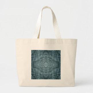 Future Sci Fi City Canvas Bags