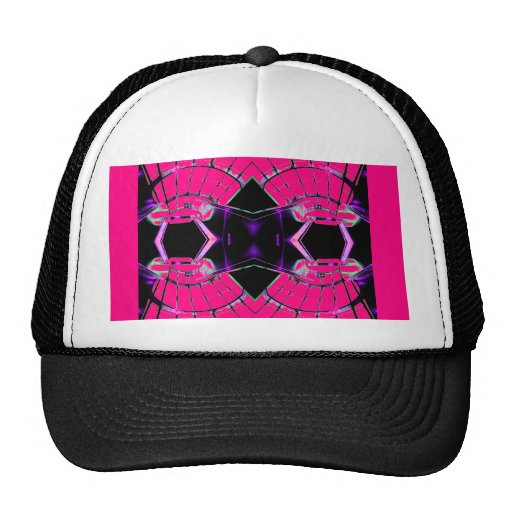 Future Science Girl Pink Girly Sci Stuff Hats