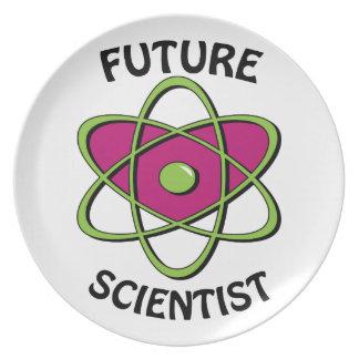 Future Scientist Dinner Plates