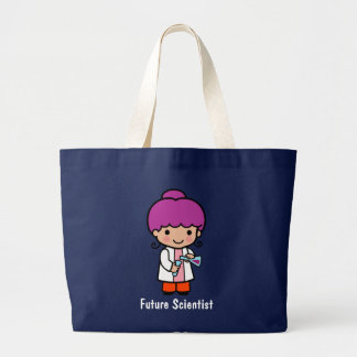 Future Scientist Large Tote Bag