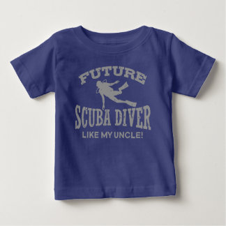 Future Scuba Diver Like My Uncle Baby T-Shirt