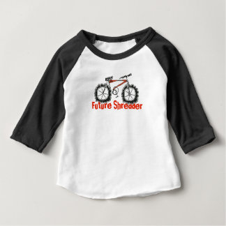 Future Shredder Mountain Bike baby shirt