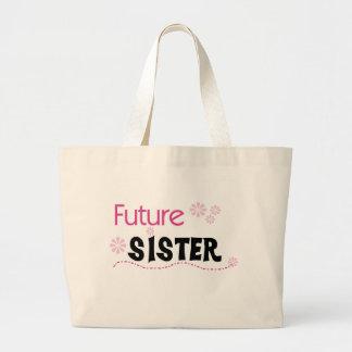 Future Sister Jumbo Tote Bag