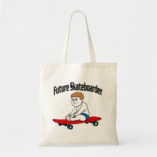 Future Skateboarder Budget Tote Bag
