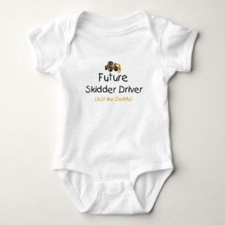 Future Skidder Driver Baby Bodysuit