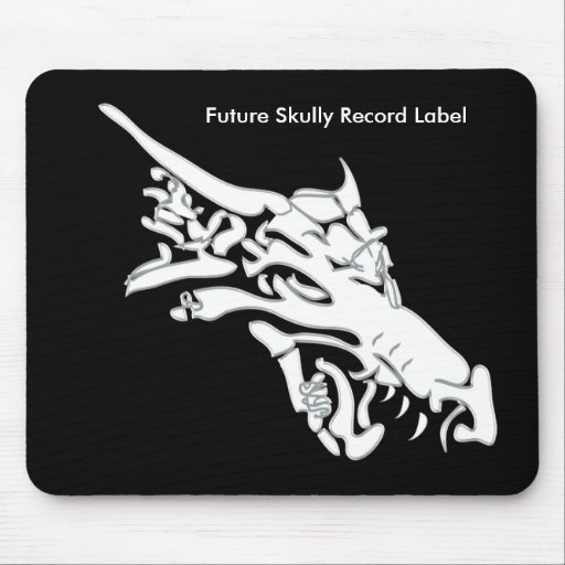 Future Skully Record Label Logo Mouse Pad