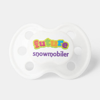 Future Snowmobiler Cute Baby Pacifier Soother