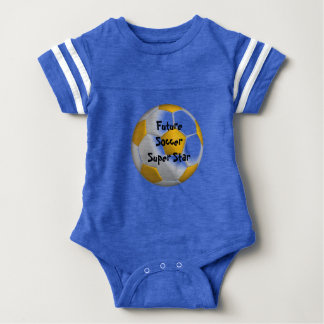 Future Soccer Star Baby Bodysuit
