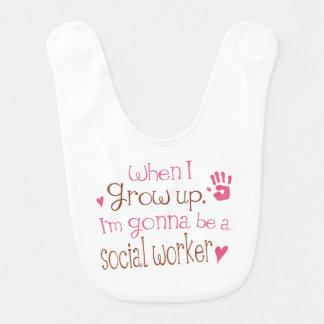 Future social Worker Baby Bib