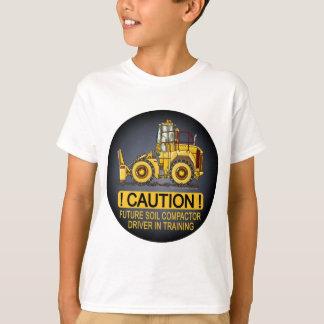 Future Soil Compactor Driver Kids T-Shirt