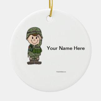 Future Soldier Ceramic Ornament