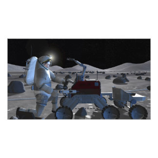 Future space exploration missions 10 photographic print