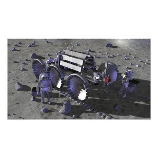 Future space exploration missions 13 photo print