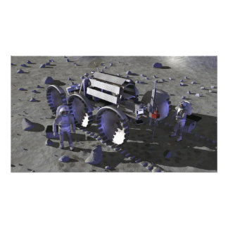 Future space exploration missions 13 photographic print