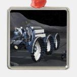 Future space exploration missions 8 christmas ornament