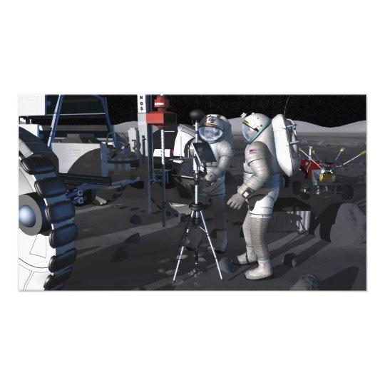 Future space exploration missions 8 photo print