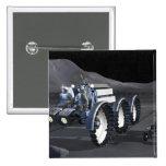 Future space exploration missions 8 pinback button