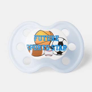 Future Sports Star Baby Pacifier