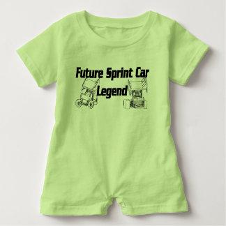 Future Sprint Car Legend Romper Baby Bodysuit