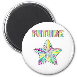 Future Star Fridge Magnet