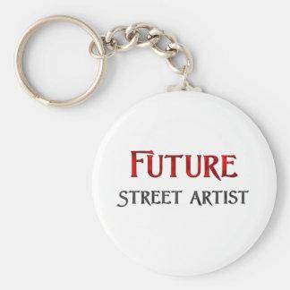 Future Street Artist Basic Round Button Key Ring