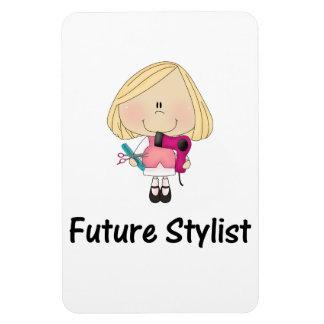 future stylist rectangular photo magnet