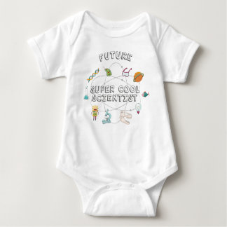 Future Super Cool Scientist for Baby Baby Bodysuit