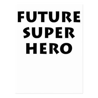 Future Super hero Postcard