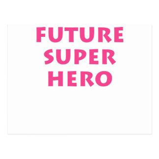 Future Super hero Postcards