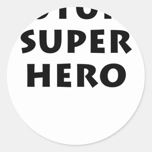 Future Super hero Sticker