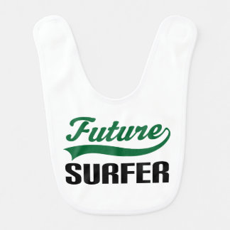 Future Surfer Baby Bib
