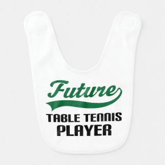 Future Table Tennis Player Baby Bib