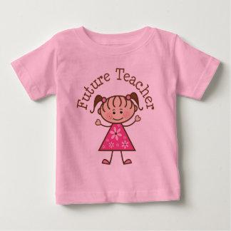 Future Teacher Stick Figure Tee Shirt