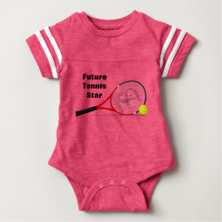 Future Tennis Star Baby Bodysuit