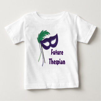 Future Thespian Masquerade Mask Baby Tee