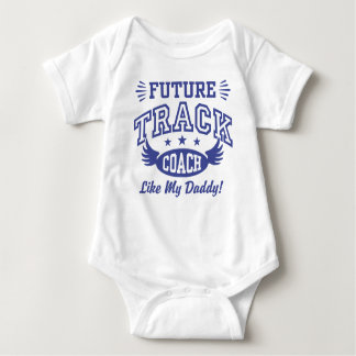 Future Track Coach Like My Daddy Baby Bodysuit