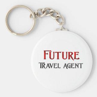 Future Travel Agent Key Chain