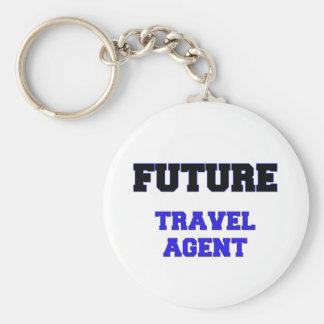 Future Travel Agent Key Chains